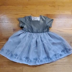 Gap girls vintage holiday dress